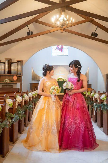 #カラードレス #LGBTQ #フォトウェディング 結婚式ならBRAPLA ブラプラ 