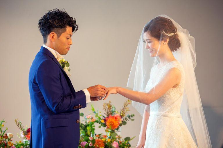#挙式 #指輪の交換 結婚式ならBRAPLA ブラプラ 