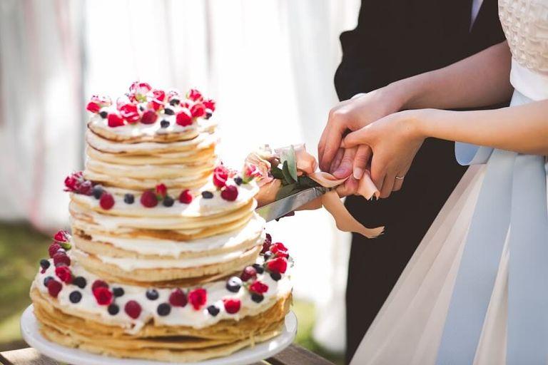 #ケーキ入刀 #パンケーキタワー #ベリー系|フリーランスのプランナーならBRAPLA|ブラプラ|