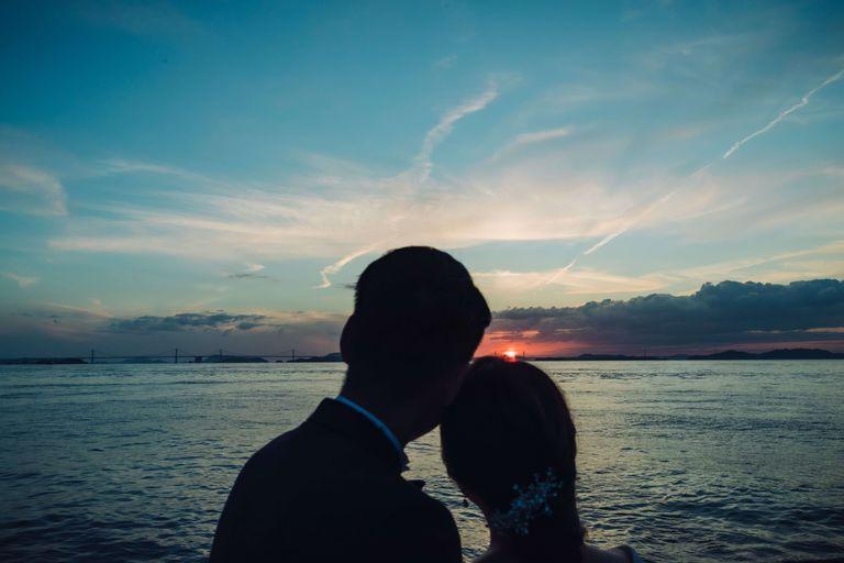 #クルージングフォト #夕陽ショット|結婚式ならBRAPLA|ブラプラ|
