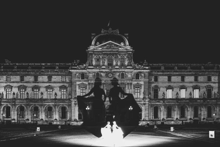 #海外挙式 #オリジナルウェディング #ルーブル美術館|ウェディングならBRAPLA|ブラプラ|