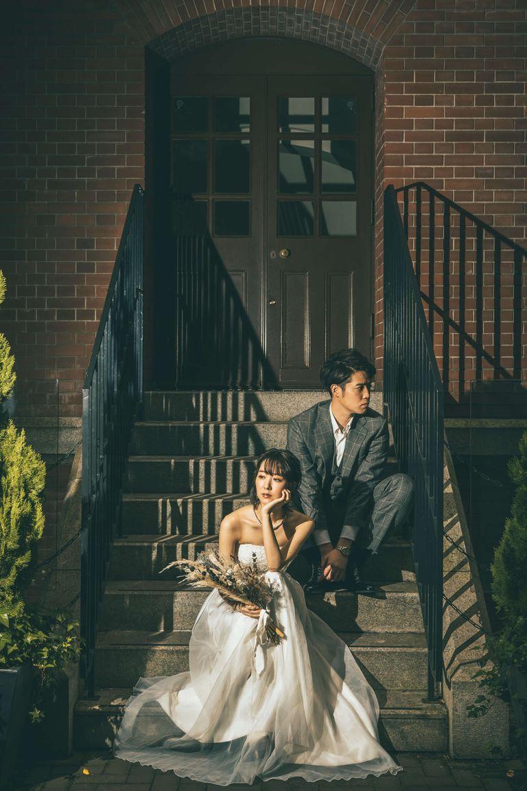 #東京駅 #東京駅前撮り #フォトウェディング 結婚式ならBRAPLA ブラプラ 