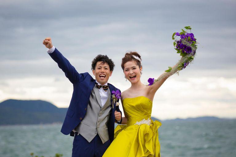#カラードレス 結婚式ならBRAPLA ブラプラ 