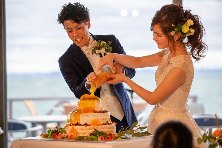 #ケーキドリップ 結婚式ならBRAPLA ブラプラ 