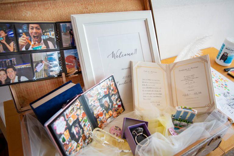 #テーマ旅 #ウエルカムボード #ウエルカムボードトランクケース 結婚式ならBRAPLA ブラプラ 