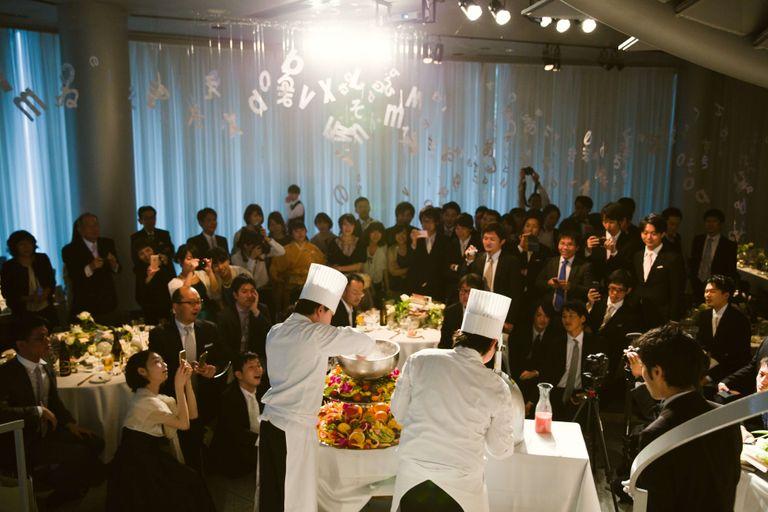 #液体窒素 結婚式ならBRAPLA ブラプラ 