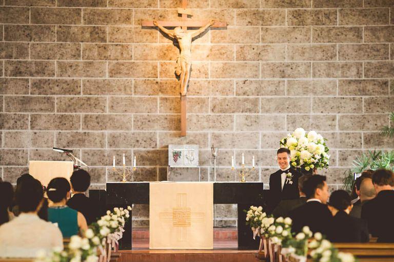 #キリスト教式  #カトリック教会 #新婦入場|フリーランスのプランナーならBRAPLA|ブラプラ|