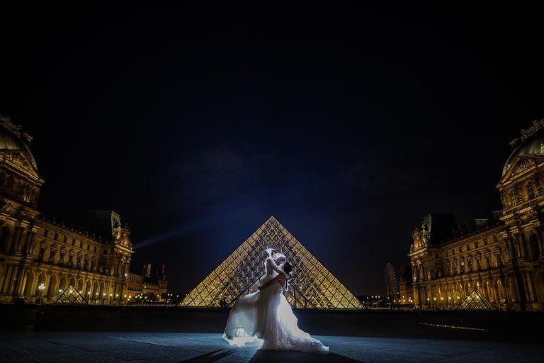 #海外挙式 #オリジナルウェディング #ルーブル美術館|フリーランスのプランナーならBRAPLA|ブラプラ|